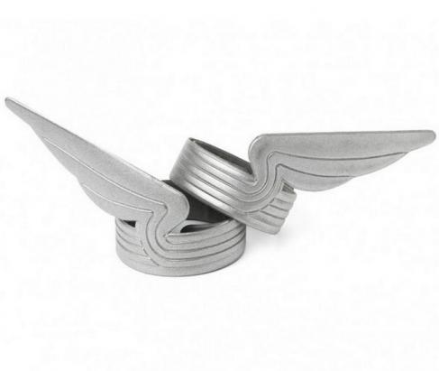 多了二片讓你騎車更安全的翅膀造型反光環