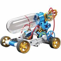 利用空氣就可以跑動的玩具車