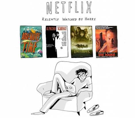 Netflix 可以看什麼?參考一下哈利波特角色們的選擇