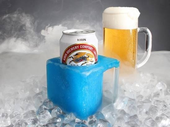 究極的啤酒專用保冷杯