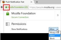Firefox 現可取得你最愛網站上的推播通知