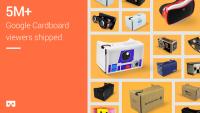 Google Cardboard 已經有 500 萬個出貨!