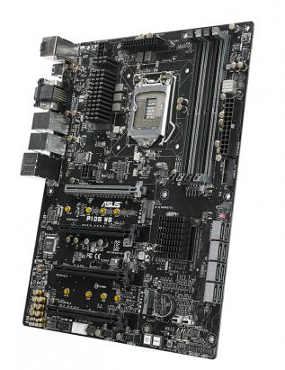 愛自己架設伺服器的玩家有新主機板可選了,華碩推出 Intel C236 晶片組織 P10S WS 、 P-10S-M WS