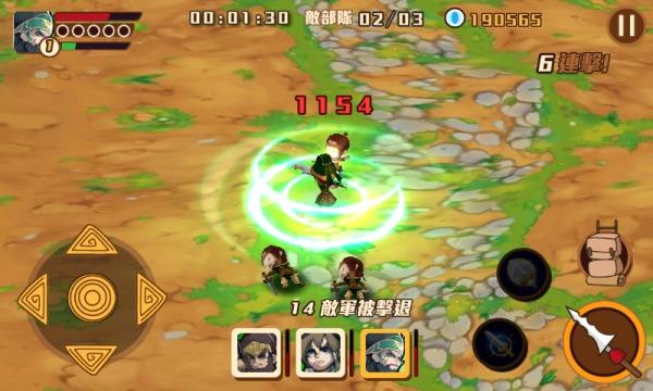 介紹大家玩一個不錯玩的遊戲《無雙天下》,是個3D格鬥遊戲