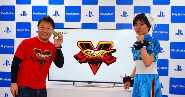 TPGS 2016:Capcom《快打旋風5》製作人小野義德與綾野智章專訪