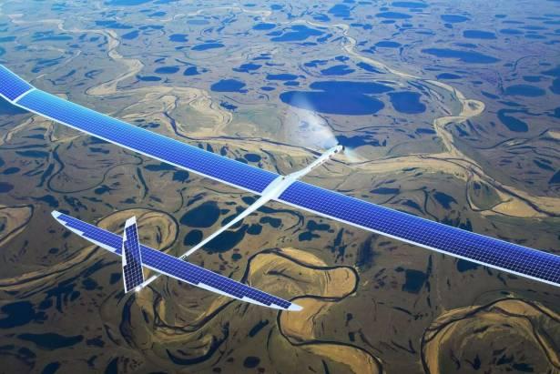 Google 傳將以 Project SkyBender 以無人太陽能飛機部屬毫米波 5G 網路