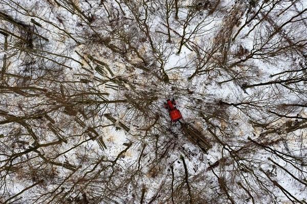 從空中角度看人類如何衝擊自然界