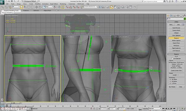 利用3D模型掃描計算,將芭比的夢幻身材打回原形,女性朋友們能夠接受真人比例版本的芭比嗎