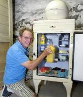 奇異公司出產的電冰箱,過了85年仍然可以使用