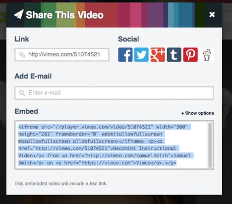 插入Youtube或外站影片的方法