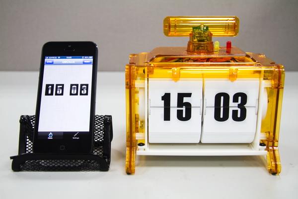 好玩的Bluetooth Smart延伸應用,將電波時鐘改造成為能夠與iPhone同步時間的裝置