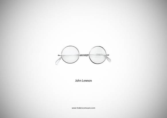 最有特色的個人配件,名人們的眼鏡!