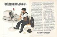讓我們來看看30年前沒有宅男女神與乳溝,主訴求為生活品質提升的電腦產品海報
