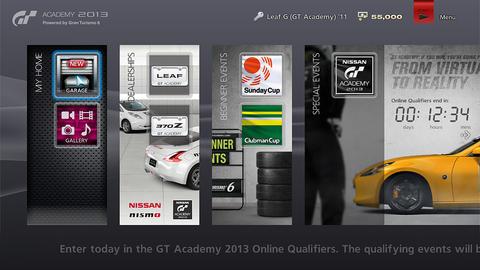 搶先體驗 GT6 精髓, SCE 釋出 GT 學院 2013 期間限定版