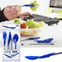 如何避免忘記攜帶環保餐具 或是原子筆 呢?