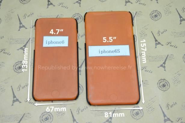 巨屏 iPhone 實體樣板終於出現, 實際尺寸是這樣