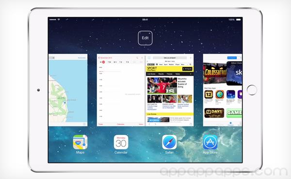 iOS 終於等到了: iOS 8 將加入畫面分割, 同時用 2 個 Apps [影片]