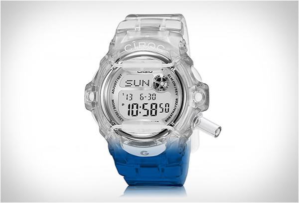 隨時隨地想吹就吹的 G-SHOCK 測酒精指數手錶