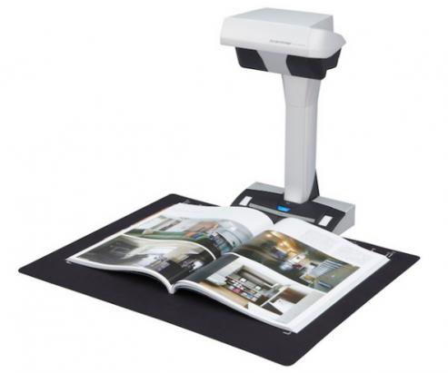 不需拆散書本也可以掃瞄!Fujitsu 推出新設計 ScanSnap 掃描器