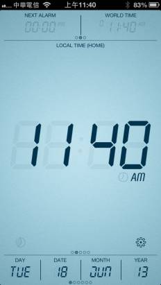 [appstore] Touch LCD – Speaking Alarm Clock 限時免費中