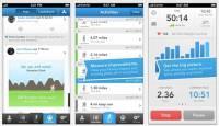 iOS 版 RunKeeper 加入社交消息頁和排行榜