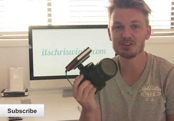 行動電源變相機外置充電器,增加9小時拍攝時間!