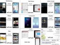 iOS 7 對 Android 說:致敬但我們作的更好