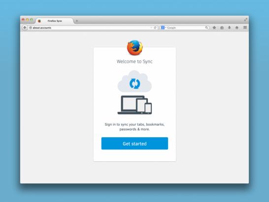 Firefox Sync 的新安全模式
