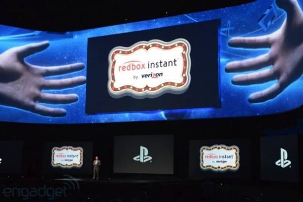 Redbox Instant 和 Flixster 將為 Sony 三款遊戲機提供即時串流服務