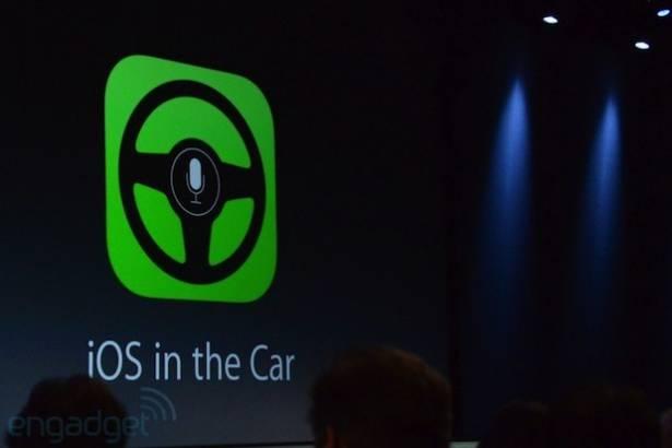 Apple 為高階轎車推出 iOS in the Car 整合功能