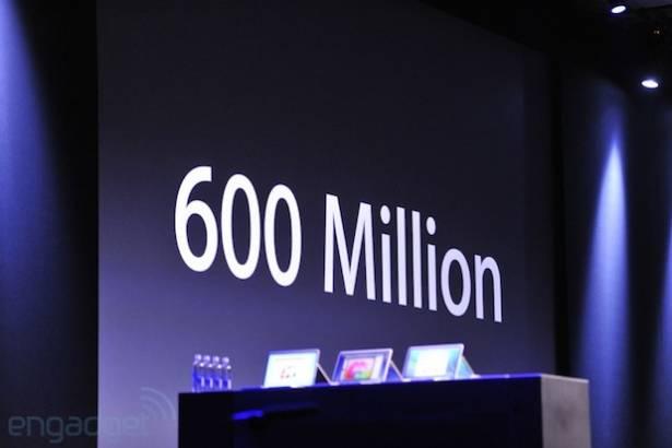 Apple:iOS 裝置總銷量已達六億台