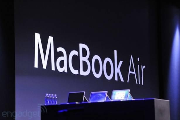 Apple 發表全新的 MacBook Air 系列,宣稱電力足以支撐一天