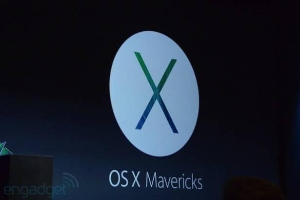 Apple 發佈最新桌上系統:OS X Mavericks