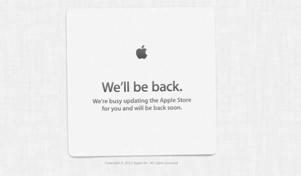 毫無意外,Apple Store 已經暫時關閉啦