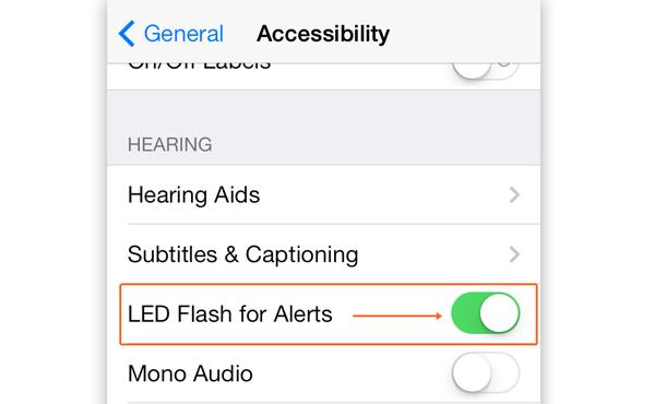 [iOS教學]你不知道的 iPhone 密技: 將閃光燈變通知提示燈