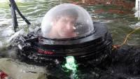 [科技新報]美高中生自製單人座潛水艇,可下潛到9公尺深的水中
