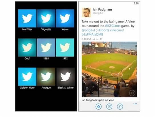 Windows Phone 8 版 Twitter 更新,加入更多相片功能