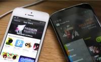 最受歡迎 Apps 商店?Google Play 快將超越 App Store
