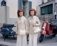 奇妙法國雙生女的攝影紀實