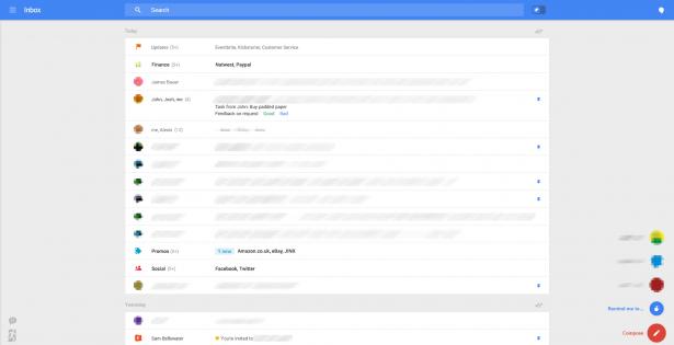 Gmail 改頭換面: 全新超簡化界面限定試用