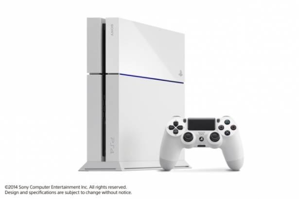 SCE 於 E3 宣布, Playstation 4 新色冰河白秋季登場