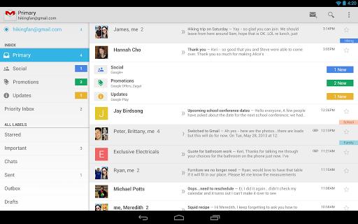新版 Android Gmail 更新現已廣泛性地推出