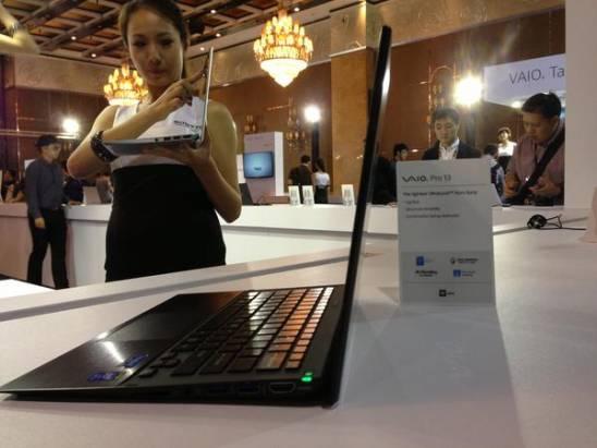 Computex 2013:Sony 推出 VAIO Duo 13、VAIO Pro 11/13 Ultrabook