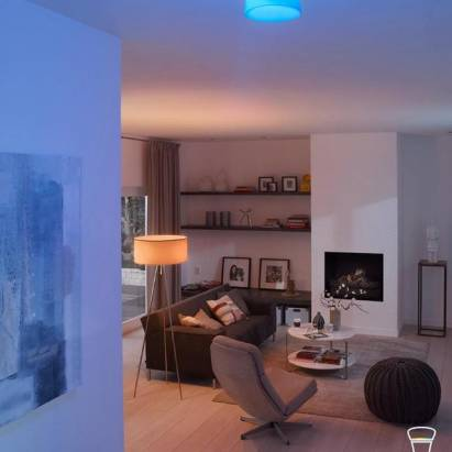 Philips hue 連網智慧LED燈泡 姿意操控環境氛圍 在家也能放煙火