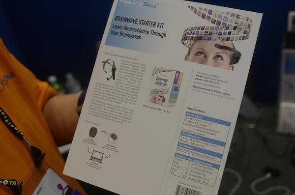 Computex 2013:神念科技的神奇腦波偵測,好玩的貓耳朵、直昇機控制