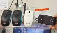 昆盈展出相機滑鼠 喇叭滑鼠 行動電源滑鼠等多款奇特產品