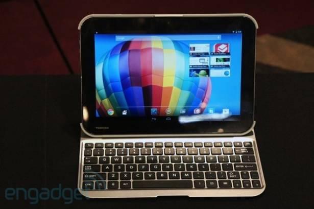 Toshiba 推出三款新 Android 平板,其中兩台搭載 Tegra 4 與 2,560x1,600 解析度面板