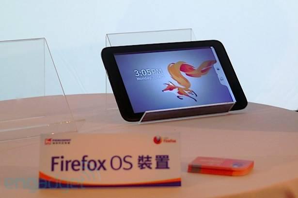 鴻海與 Mozilla 公佈有關 Firefox OS 的合作詳情,同場首次展示 Firefox OS 平板