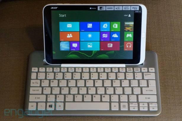 Acer W3 發表:首部 8 吋的 Windows 平板,售價由 €329 起