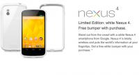 在美國 Google Play 買白色 Nexus 4 會送 Bumper,順道進來看看開箱動手玩影片吧